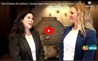 Literary Agent Rhea Lyons   The Book Break   Season 3 Episode 6