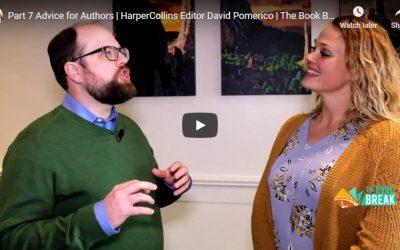 HarperCollins Editor David Pomerico | The Book Break | Season 3 Ep 9